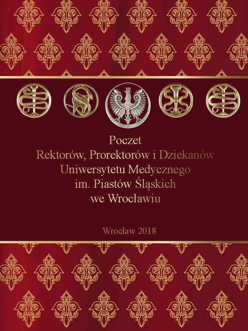 Poczet rektorów, prorektorów i dziekanów Uniwersytetu Medycznego im. Piastów Śląskich we Wrocławiu